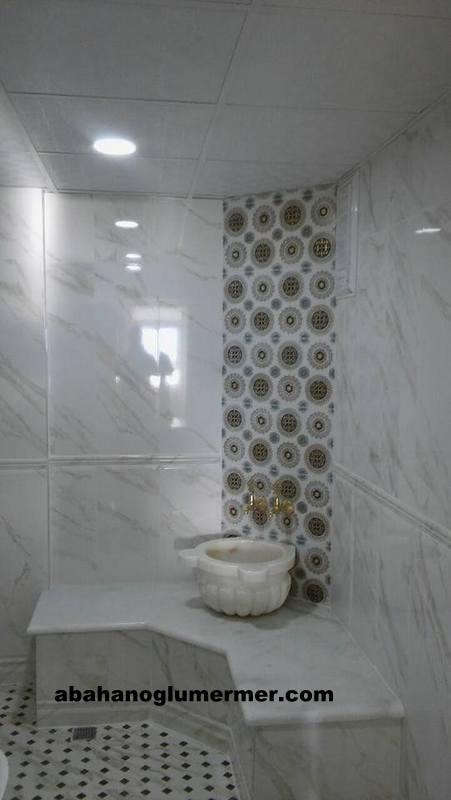 mermer banyo kurnası