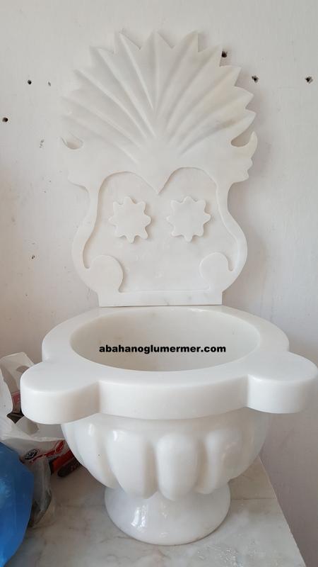 mermer banyo kurna