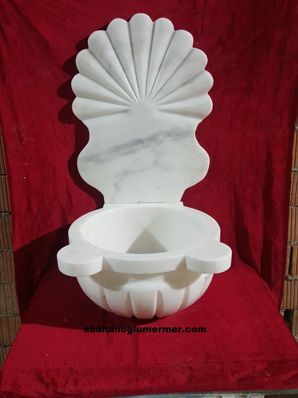 aynalı mermer banyo kurnaları