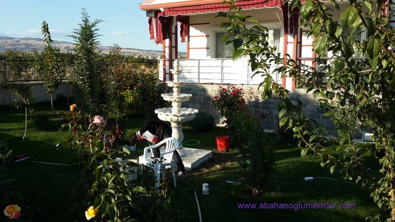 Bahçe Çeşmesi Bahçe Dekorasyon